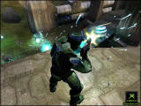 Halo: Combat Evolved Screenshot Fighting Grunts and Elites