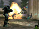 Halo: Combat Evolved Screenshot Blowing up Jackals with a fragmentation grenade