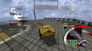 3D Pixel Racing Screenshot