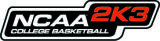 NCAA College Basketball 2K3 Logo
