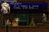 Castlevania: Symphony of the Night Screenshot Meeting an old friend