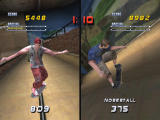 Tony Hawk's Pro Skater 2 Screenshot Split screen skating
