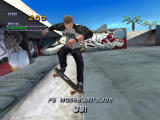 Tony Hawk's Pro Skater 2 Screenshot Grinding at Venice Beach