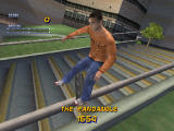 Tony Hawk's Pro Skater 2 Screenshot Eric Koston with a signature grind