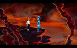 The Secret of Monkey Island: Special Edition Screenshot Guybrush and Bob (new graphics)