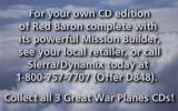 Red Baron Other Ordering information