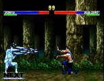 Mortal Kombat Trilogy Screenshot PSX version