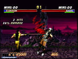 Mortal Kombat Trilogy Screenshot Nintendo 64 version