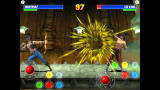 Ultimate Mortal Kombat 3 Screenshot Nightwolf and Liu Kang