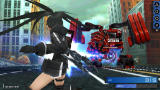 Black Rock Shooter: The Game Screenshot