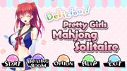 Delicious! Pretty Girls Mahjong Solitaire Screenshot
