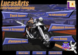 Full Throttle Other Website main menu w/ <i>Full Throttle</i> theme