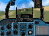 HIND: The Russian Combat Helicopter Simulation Screenshot This image is also featured on the game's packaging.