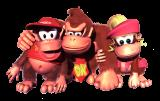 Donkey Kong Country 2: Diddy's Kong Quest Render