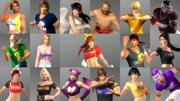 Dead or Alive 5: Last Round - Tecmo 50th Anniversary Costume Set Screenshot