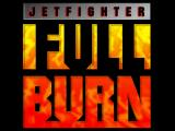 JetFighter: Full Burn Logo