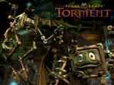 Planescape: Torment Wallpaper Here's a new, cool wallpaper for you from the Black Isle art crew. This image features the mechanical modrons -- extremely orderly beings from a place called Mechanus. The modrons are clockwork creations, focusing all of their energy and attention on maintaining the huge gears that keep Mechanus working.