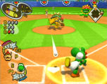 Mario Superstar Baseball Screenshot