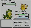 Pokémon Crystal Version Screenshot