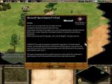 Age of Empires II: The Age of Kings Screenshot The trialgame's 'About' screen