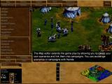 Age of Empires II: The Age of Kings Screenshot The Map Editor is described but is not available in the trial game
