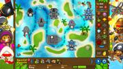 Bloons TD 5: Navy Monkey Buccaneer Skin Screenshot
