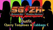 SG/ZH: School Girl/Zombie Hunter - Cherry Tomatoes & Cabbage C Screenshot