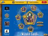 Harry Potter and the Sorcerer's Stone Screenshot These are the printable 'Wizard Cards', the  flip side has details of the wizard shown in the picture
