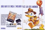 QuackShot starring Donald Duck Magazine Advertisement pp. 2-3