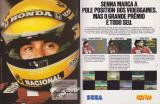 Ayrton Senna's Super Monaco GP II Magazine Advertisement pp. 16-17