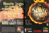 NBA Jam Tournament Edition Magazine Advertisement pp. 2-3