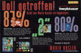 Head-On Soccer Magazine Advertisement Part 2