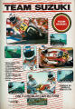 Team Suzuki Magazine Advertisement