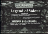 Legends of Valour Magazine Advertisement