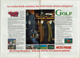 David Leadbetter's Greens Magazine Advertisement