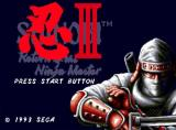 Shinobi III: Return of the Ninja Master Screenshot