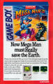 Mega Man III Magazine Advertisement Inside front cover