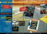 Network Q RAC Rally Championship Magazine Advertisement