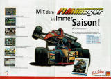 F1 Manager Professional Magazine Advertisement
