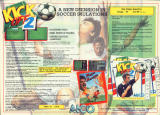 Kick Off 2 Magazine Advertisement Pages 20-21