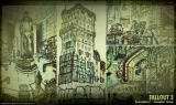 Fallout 3 Concept Art Enviroments and buildings.