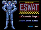 ESWAT: City under Siege Screenshot