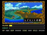 Ys III: Wanderers from Ys Screenshot