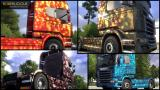 Euro Truck Simulator 2: Flip Paint Designs Screenshot