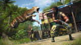 Far Cry 3 Screenshot A jaguar killing enemies.