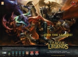 League of Legends Magazine Advertisement