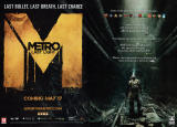 Metro: Last Light Magazine Advertisement