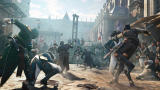 Assassin's Creed: Unity Screenshot A big street fight.