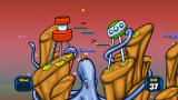 Worms Reloaded: Retro Pack Screenshot