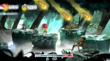 Child of Light Screenshot Fighting several enemies.